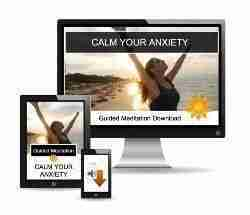 Calm your anxiety guided meditation